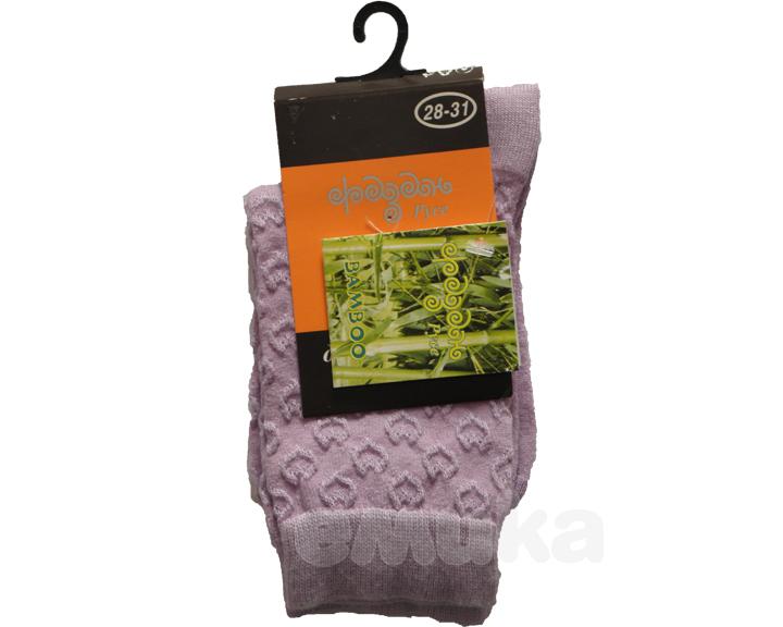 Фигурални чорапи лила